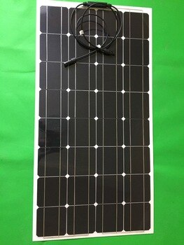 100w 12v semi-flexible solar panels, emerging industrial products, change the demand for electricity on the human