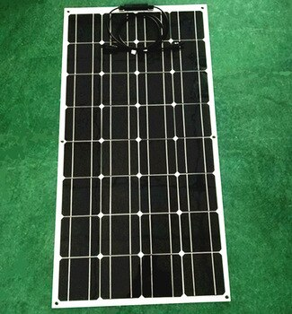 Innovative Products, 100W Flexible Solar Panel Charger 12V Battery Solar Battery 18V Voltage