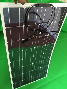 Leading the same product of the latest 100w semi-soft solar panels, more efficient